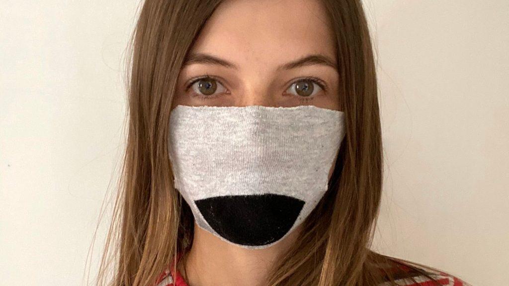 utilizing the mask